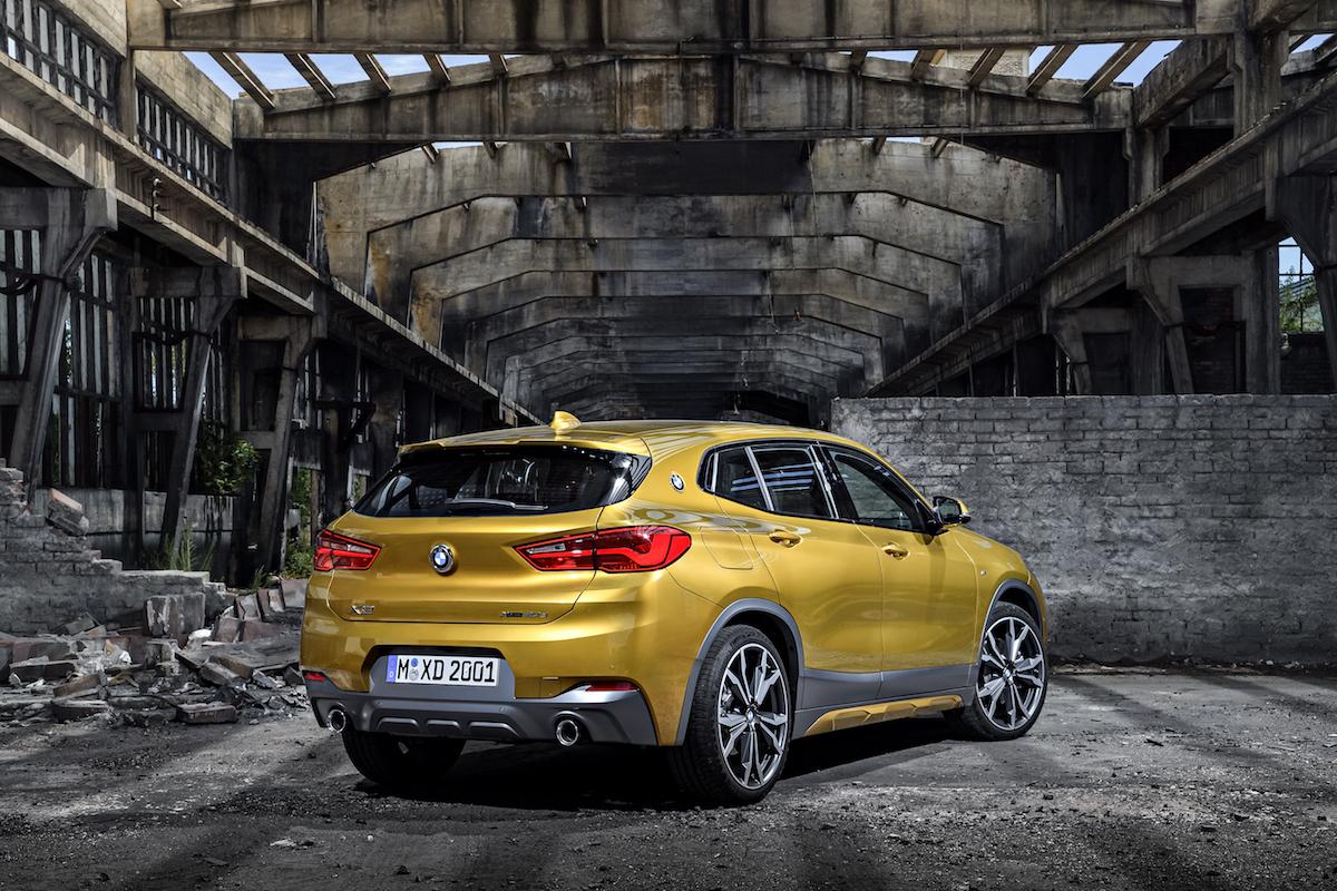 BMW X2 3quart arriere – CANDIDATE 17