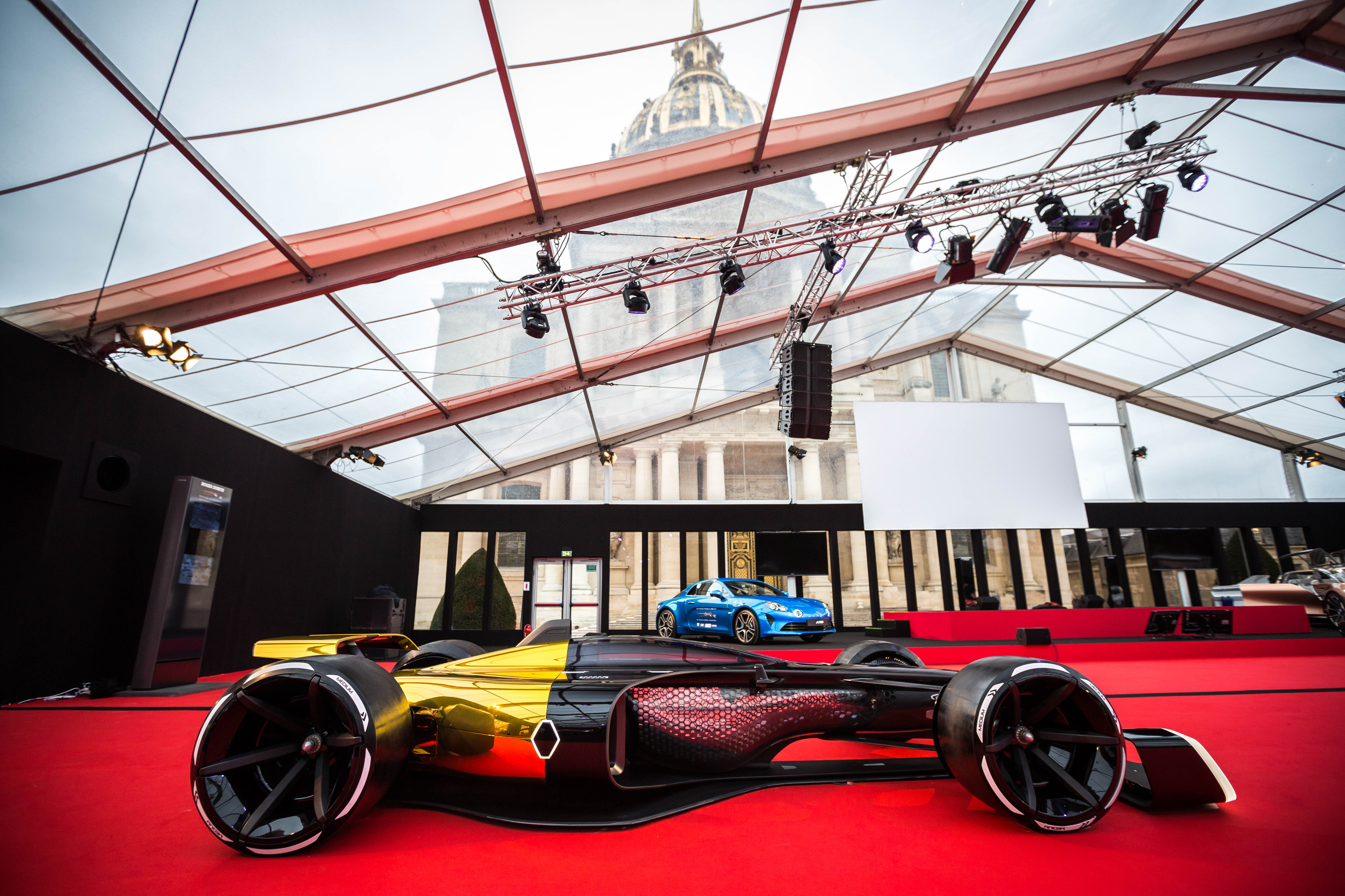 Discover The Backstage Of Concept Cars Design Automobile - Exhibition car