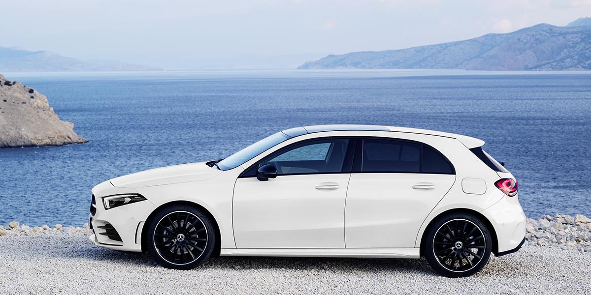 Mercedes Classe A_ profil
