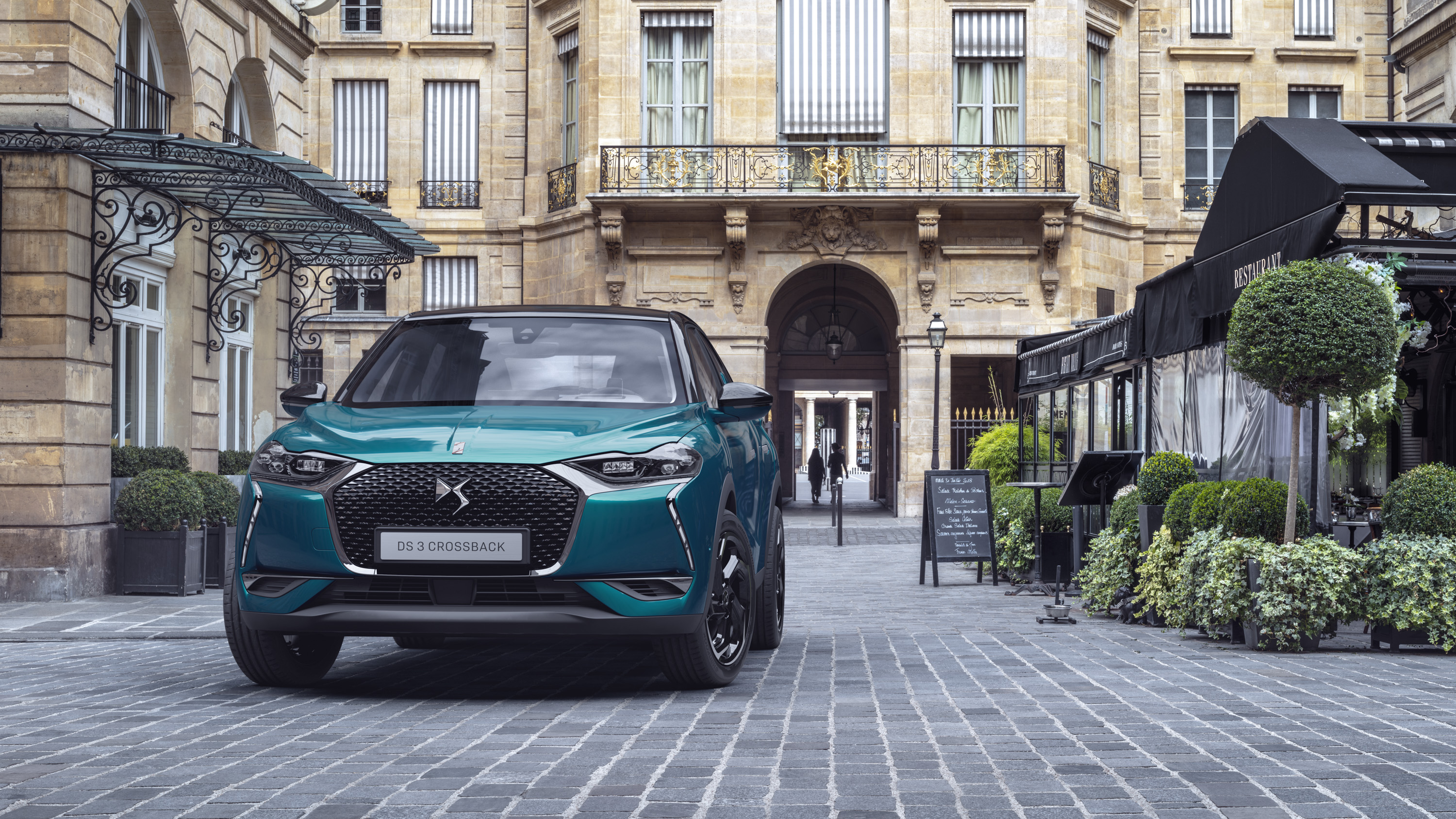 DS3 Crossback 3quart avant